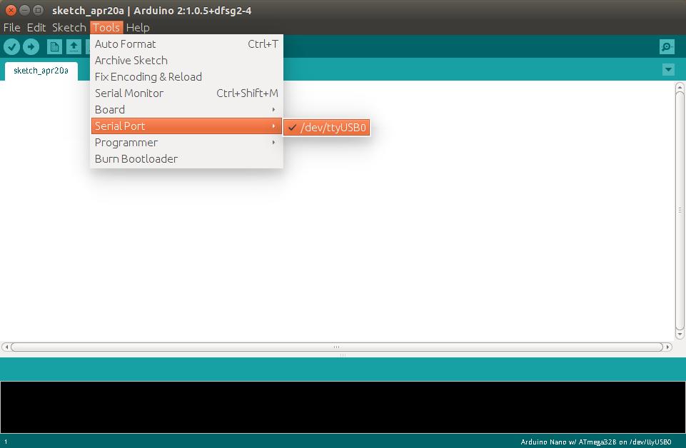 Arduino Select SerialPort