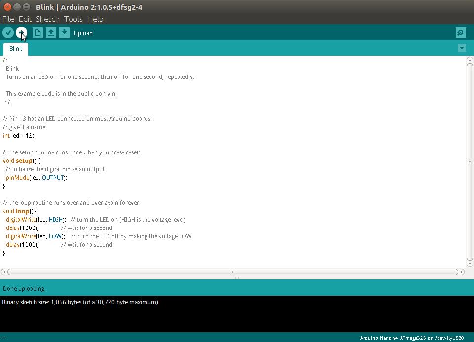 Arduino Upload Code