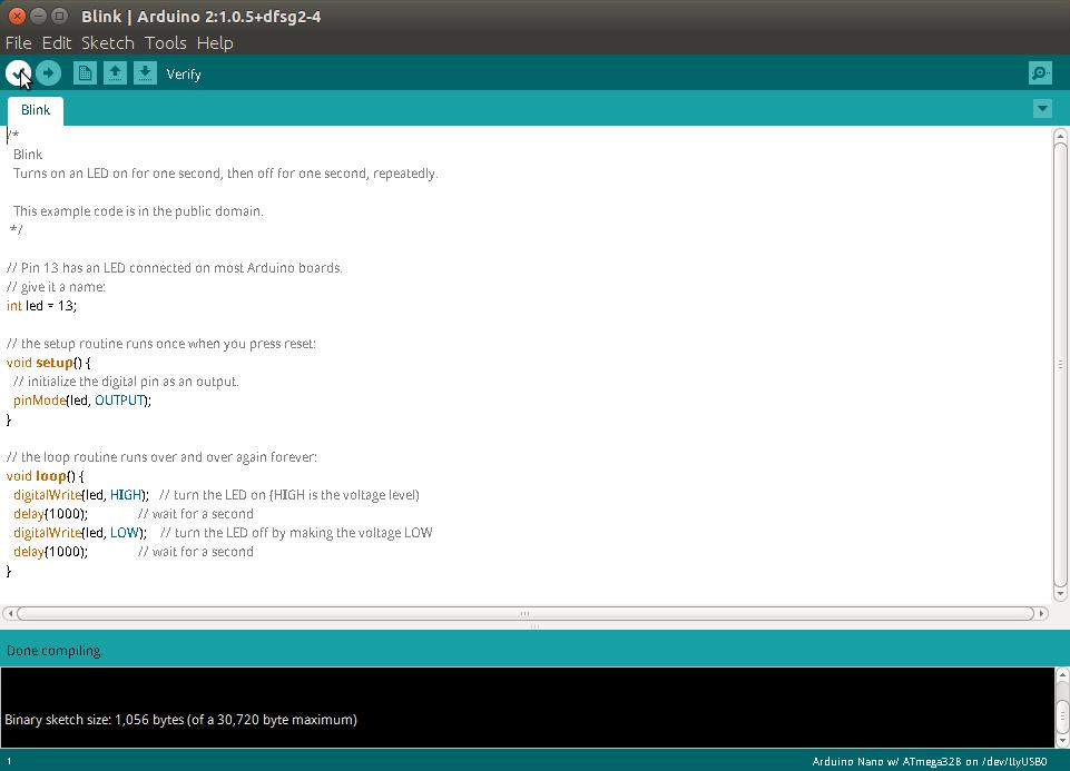 Arduino Verify Code