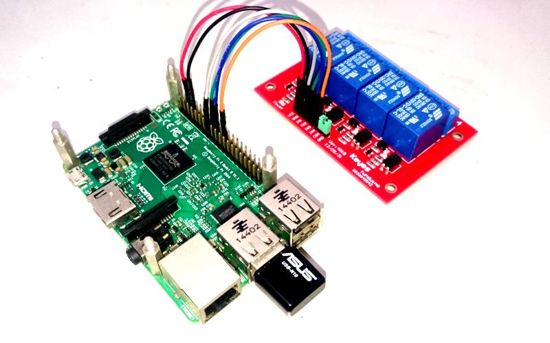 Raspberry Pi and Relay Board